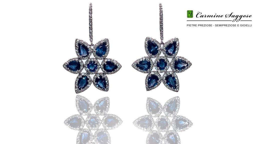 pietrepreziosegioielli.com-orecchini- zaffiri fiori