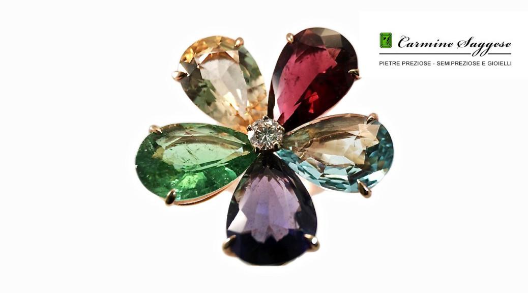pietrepreziosegioielli.com-anelli fiore semipreziosi